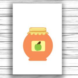 Őszi gyümölcsök – nagycsoport