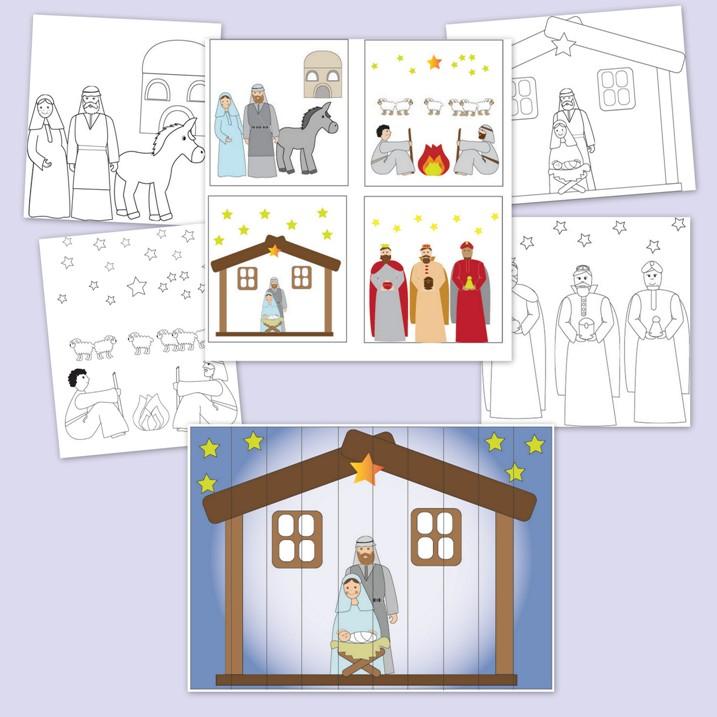 karácsonyi feladatlapok óvodásoknak